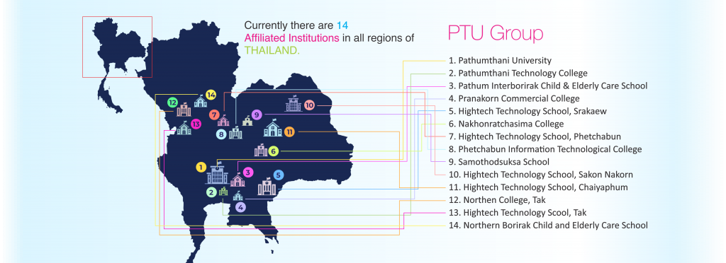 PTU Group Map